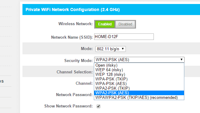 WiFi-Security-WPA2-Encription